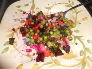 Beets and Vegetables