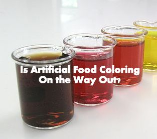 Natural food dyes are replacing artificial food dyes (Source:  By Skoot13 (Own work) [CC BY-SA 3.0], via Wikimedia Commons)
