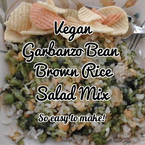 Easy vegan salad mix