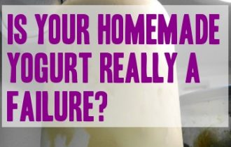 how to tell if you have a bad batch of yogurt